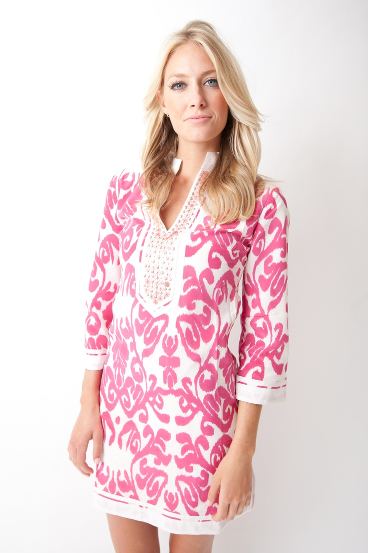 Sheridan French Spring 2013 silk Gabby tunic dress (available in February)