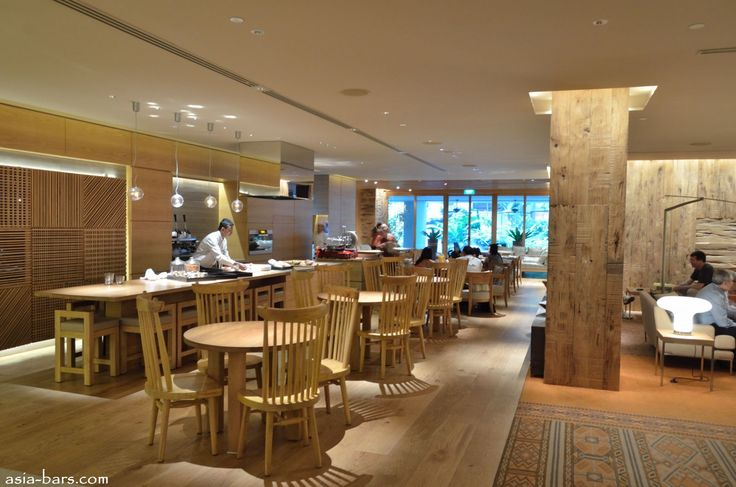 "10 SCOTTS @ Grand Hyatt Singapore- contemporary ""residential"" style lounge & dining"