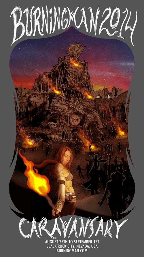 Burning Man 2014 Caravansary!