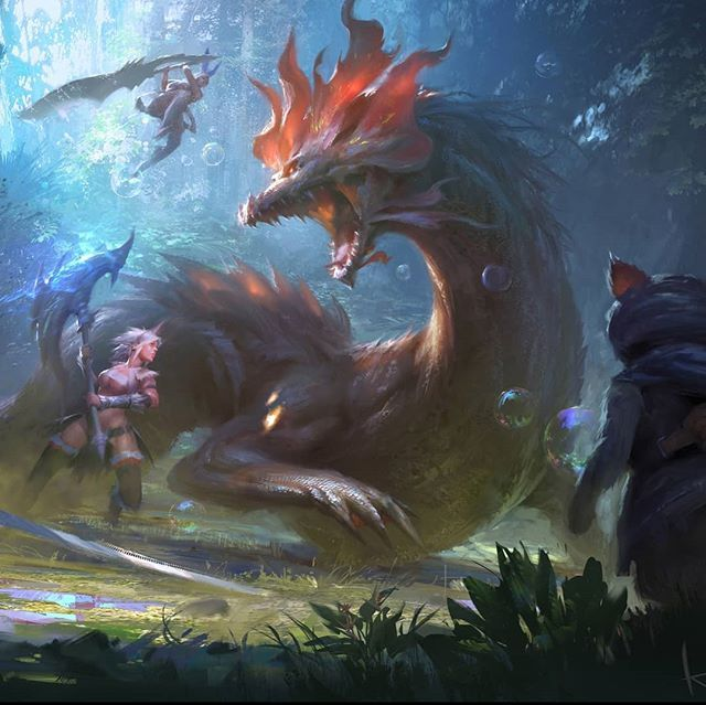 What's every ones thoughts about Monster Hunter World? Considering getting it...  Fan art for Monster Hunter X By Keyi Li  #MonsterHunter #MonsterHunterWorld #Gaming #Xbox #PC #PS4 #GameArt #FanArt #ConceptArt #Fantasy #Scifi #Illustration