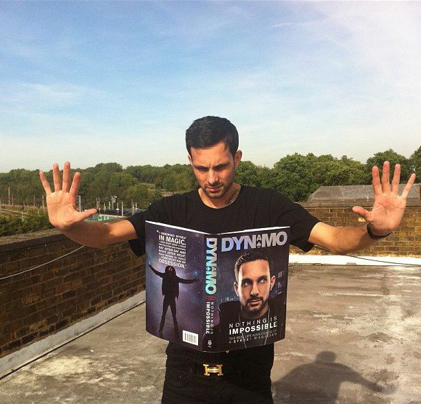 Dynamo's book! Nothing's impossible - looking forward to reading this!