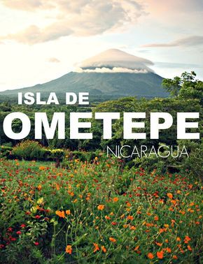 What to do on Isla de Ometepe, the beautiful island on Lake Nicaragua.  Hike a volcano, bike to mineral springs and explore beaches | The Mochilera Diaries #travel #centralamerica