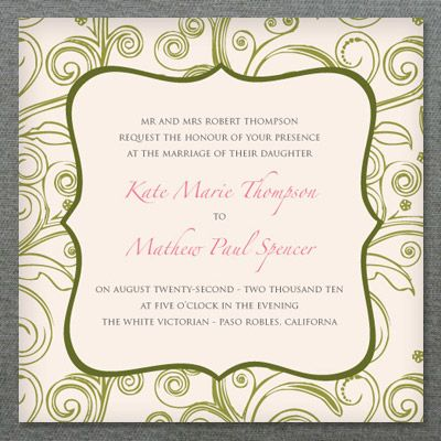 134 best DIY Wedding Invitation Templates images on Pinterest - wedding template
