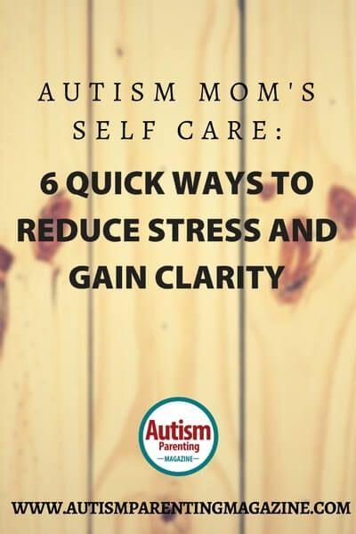 Ways to Reduce Stress and Gain Clarity http://www.autismparentingmagazine.com/ways-reducing-stress-gain-clarity/
