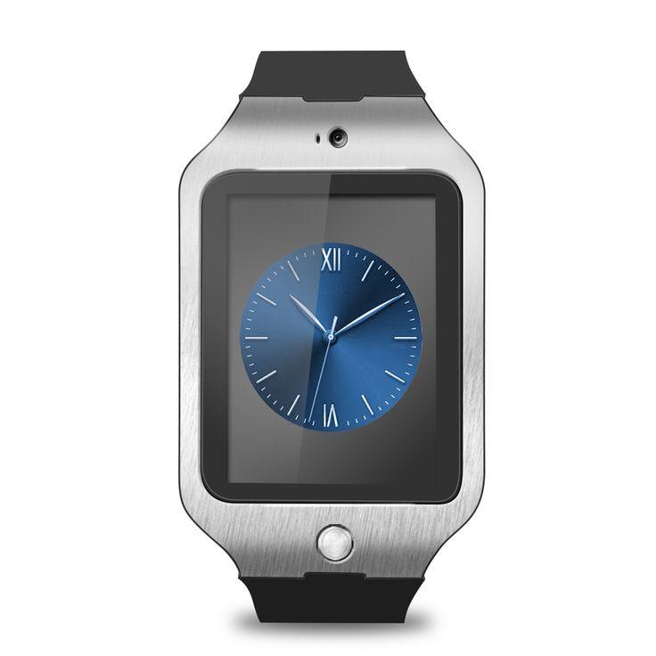 LCD smartwatch DZ09 Bluetooth para o telefone