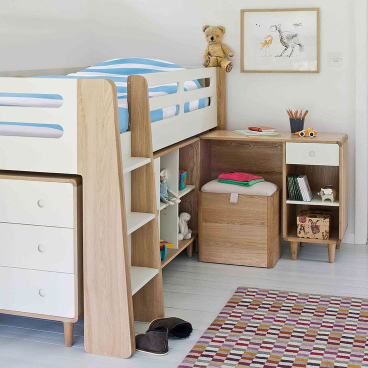 This effortlessly cool cabin bed offers a contemporary bed for kids and  teens, combining fun