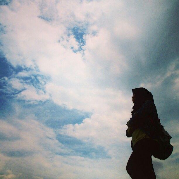 Cause you're sky...