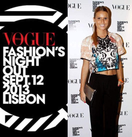 vogue fashion night out lisboa 2013