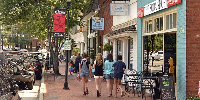 An Ode to the College Town: Davidson By Michael Kruse...Davidson, NC, home of Davidson College