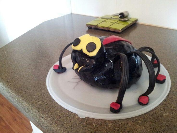 Oscar's 5th. Spider cake