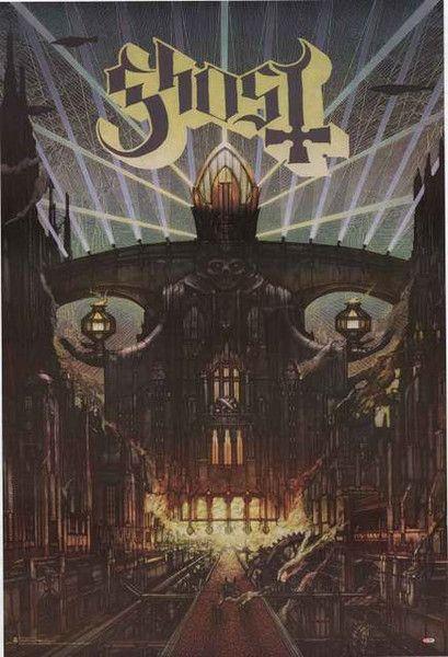 Ghost Meliora Album Cover Poster 24x36 – BananaRoad