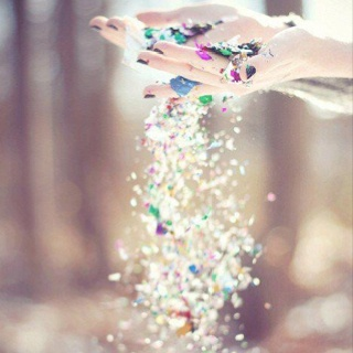 Can never have to much glitter in you life..