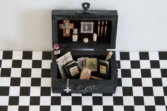 Hey, I found this really awesome Etsy listing at https://www.etsy.com/listing/251848255/dollhouse-miniature-gothic-spooky