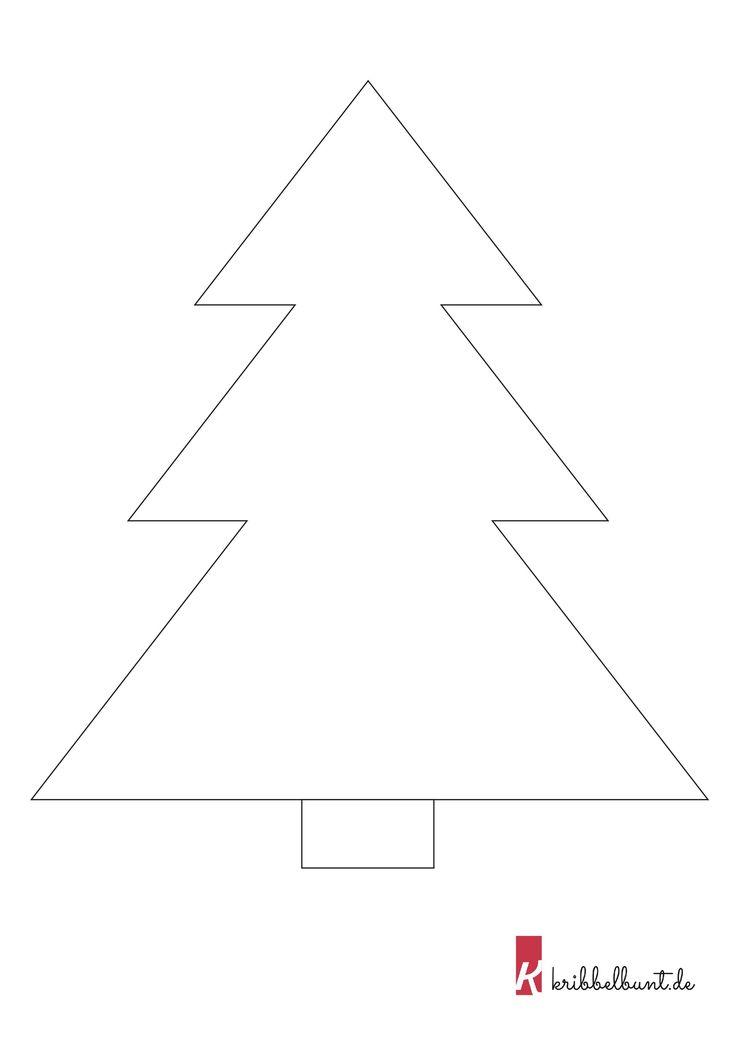 tannenbaum vorlage 1  tannenbaum vorlage bastelvorlagen