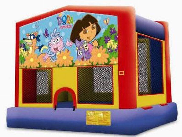 Dora La Exploradora Moonwalk -venta De Brincolines - Comprar Barato Precio De Dora La Exploradora Moonwalk - Fabrica Brincolines En Estados Unidos