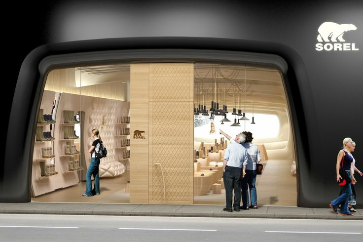 Architecture Modern And Cozy Apple Retail Store Design Astounding Exterior