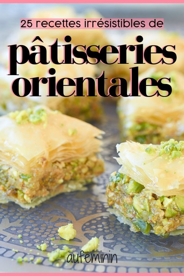 Baklava, Gazellenhörner, Chebakia, Gribias, Briouats usw. Dieses Gebäck aus …   – Recettes desserts / Gourmandises