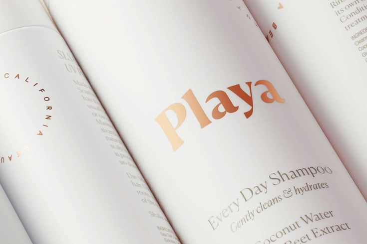 Minimally designed Playa Beauty Branding by Manual  https://mindsparklemag.com/design/playa-beauty-branding/