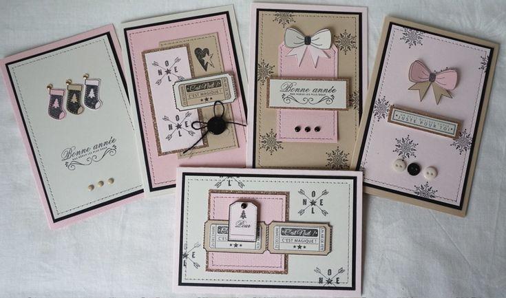Minis kits carterie de Noël