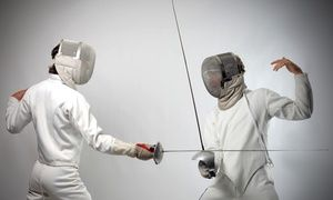 Groupon - One Introductory Fencing Class or Three Group Fencing Classes at Red Rock Fencing Center (Up to 52% Off) in Red Rock Fencing Center. Groupon deal price: $19