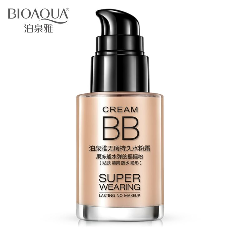 BIOAQUA Persistent BB cream shake powder foundation Whitening and moisturizing concealer invisible pores Easy on the makeup //Price: $9.95 & FREE Shipping //     #DRONES