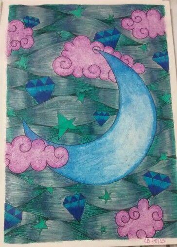 """Vigésima terceira ilustração de """" O livro anti-insônia"""". The can't Sleep Colouring Book ( Creative Colouring for Grown-Ups."""