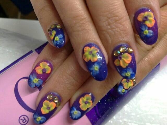 Akrylowe kwiaty