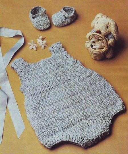 Delicadezas en crochet Gabriela: Enterito de bebé
