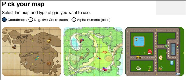 Little Monkey Apps Co-ordinates  Teaches co-ordinates, grid references, compass directions and basic map reading.
