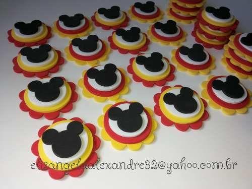Mickey Mouse - Apliques para lembrancinhas