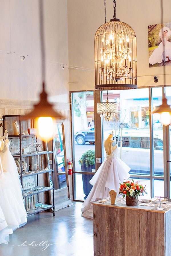 If we could have a dream boutique, this would be it!  |  Haute Bride   |  k.holly photography  |  Los Gatos Weddings