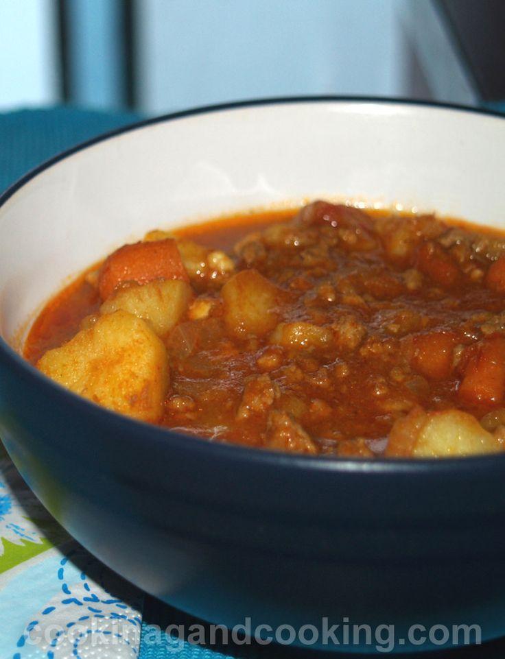 Ground Beef Stew Recipe