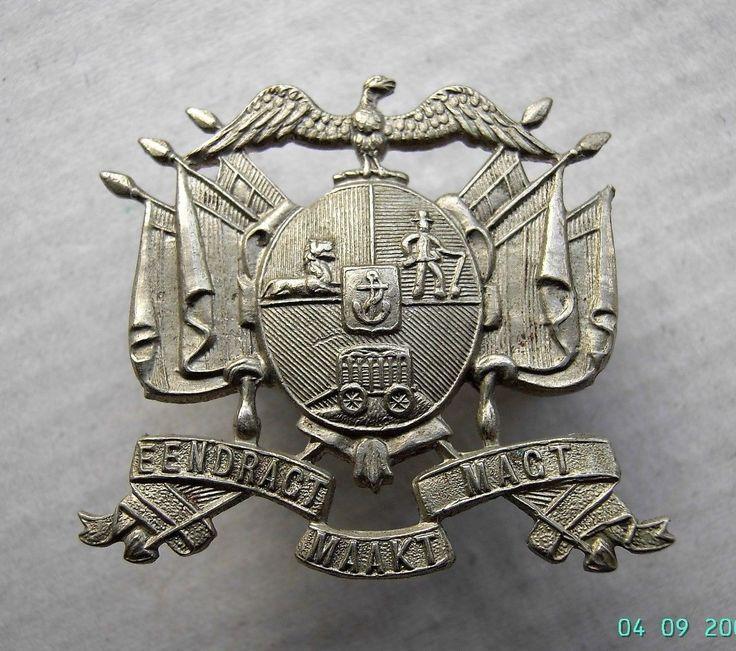 BOER WAR TRANSVAAL STAATS ARTILLERY CAP BADGE ORIGINAL | eBay