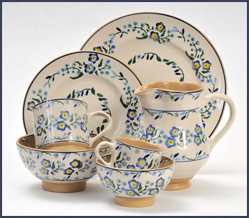 Nicholas Mosse Forget-Me-Not Pattern    Nicholas Mosse Pottery & Dinnerware