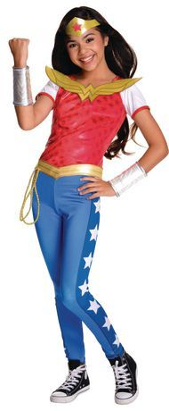 Superhero costumes for girls + costume ideas for girls + cute dress up inspiration = $34.98 @ Walmart.ca