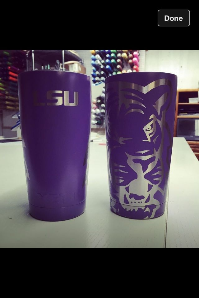 My New Yeti Cup Geaux Tigers Decals For Yeti Cups