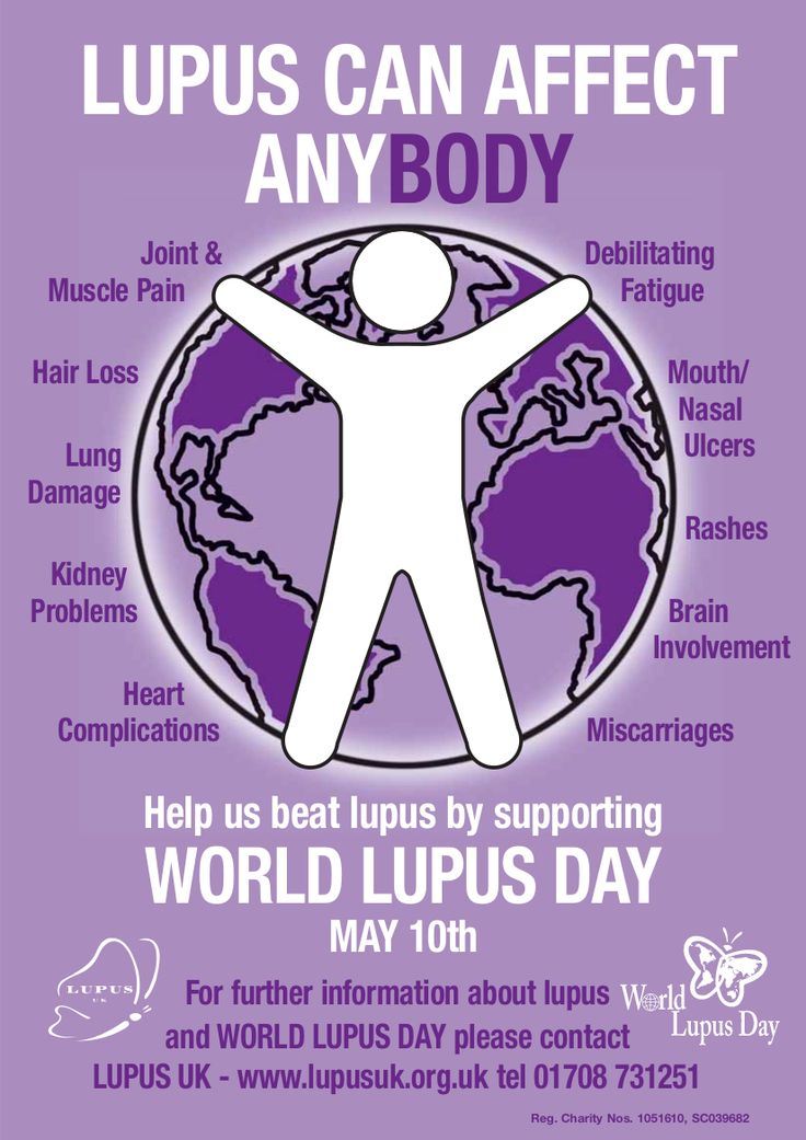 From #Lupus UK: In 2014, World Lupus Day will mark its 10th year.