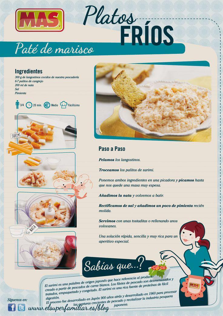 Pate de marisco, fácil de hacer y sorprenderás por su sabor