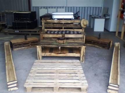 Rustic outdoor furniture set | Other Furniture | Gumtree Australia Morphett Vale…