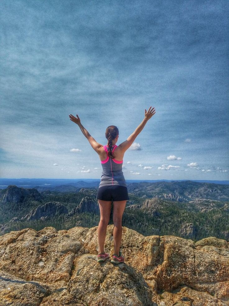Harney Peak. Highest point East of the Rockies. Located in the Black Hills of South Dakota.   See more at atravelingbond.com