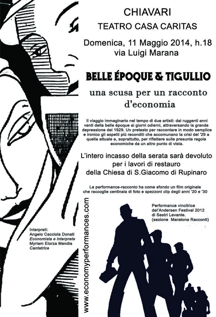 Belle époque & Tigullio Teatro Casa Caritas  Chiavari