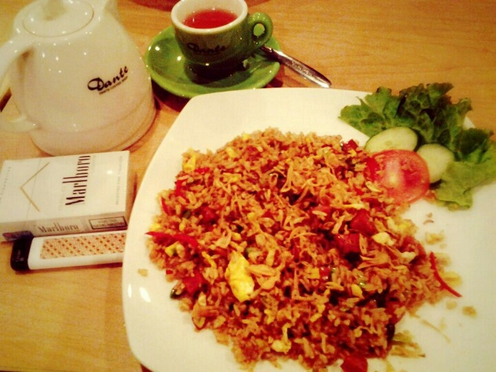 Indonesian fried rice @K T Coffee shop