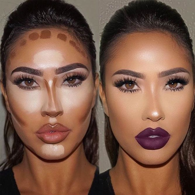Several Important Tips on How To Contour for Real Life ★ DIY Contouring Pictorial picture 5 ★ See more: http://glaminati.com/how-to-contour/ #makeup #makeuplover #makeupjunkie #contour