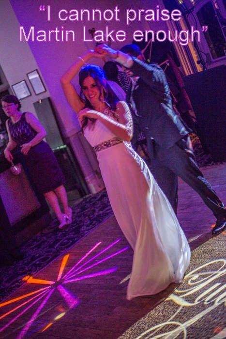 Another brilliant Rhinefield wedding - DJ Martin Lake
