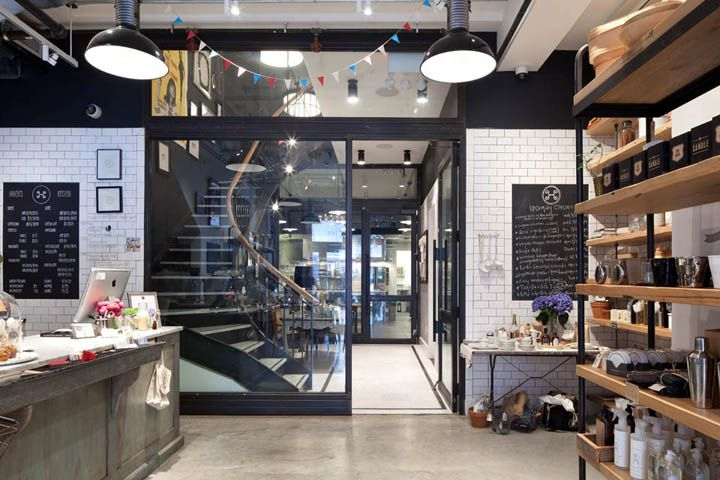 Haven's Kitchen store and restaurant by Turett Collaborative Architects, New York City