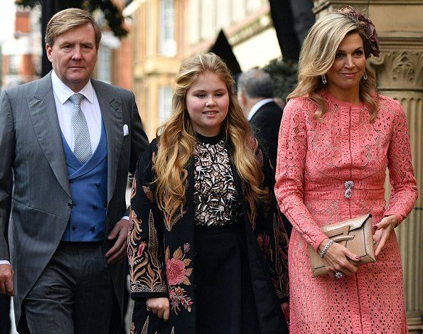 ♥•✿•QueenMaxima•✿•♥...Queen Maxima, Crown Princess Catharina-Amalia, Princess Ariane, Queen Sofia, Princess Stephanie of Luxembourg, Princess Beatrice, Crown Princess Marie-Chantal