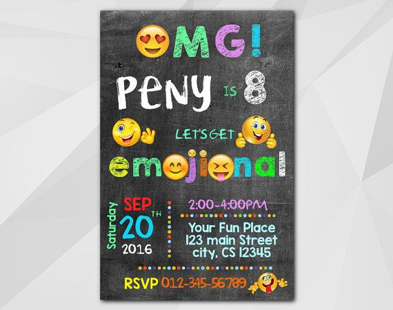 Best Emoji Images On Pinterest Printable Invitations Smileys - 21st birthday invitations pinterest