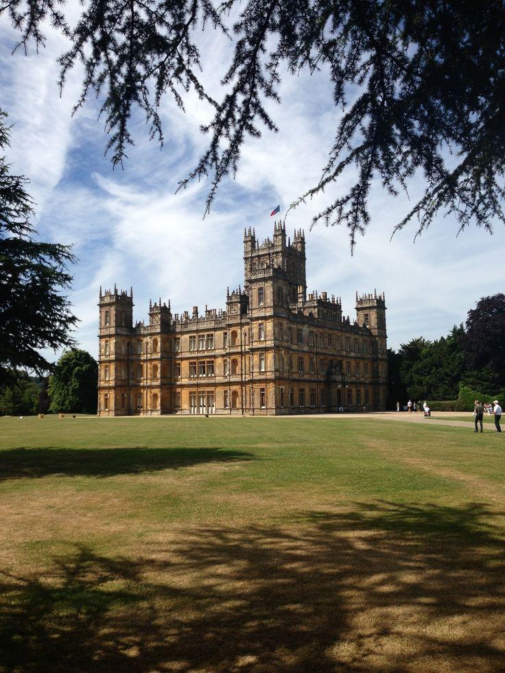 Highclere Castle (aka Downton Abbey) July 2013
