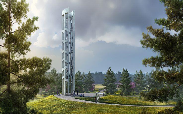 Dezesseis anos após os trágicos acontecimentos de 11 de setembro, a última parte do Memorial Nacional do Voo 93 foi apresentada.