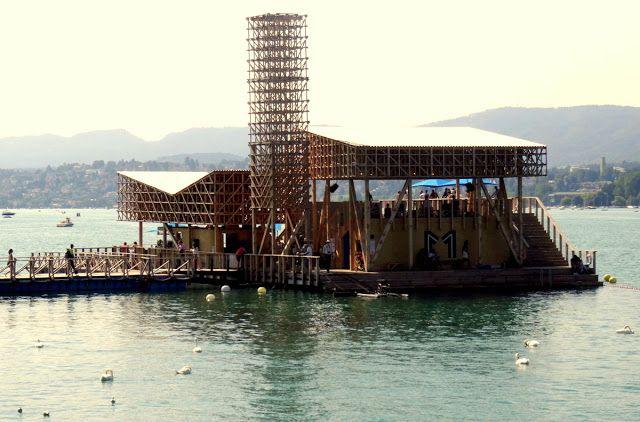 Manifesta 11 - The Pavilion of Reflections on Lake Zurich, Switzerland